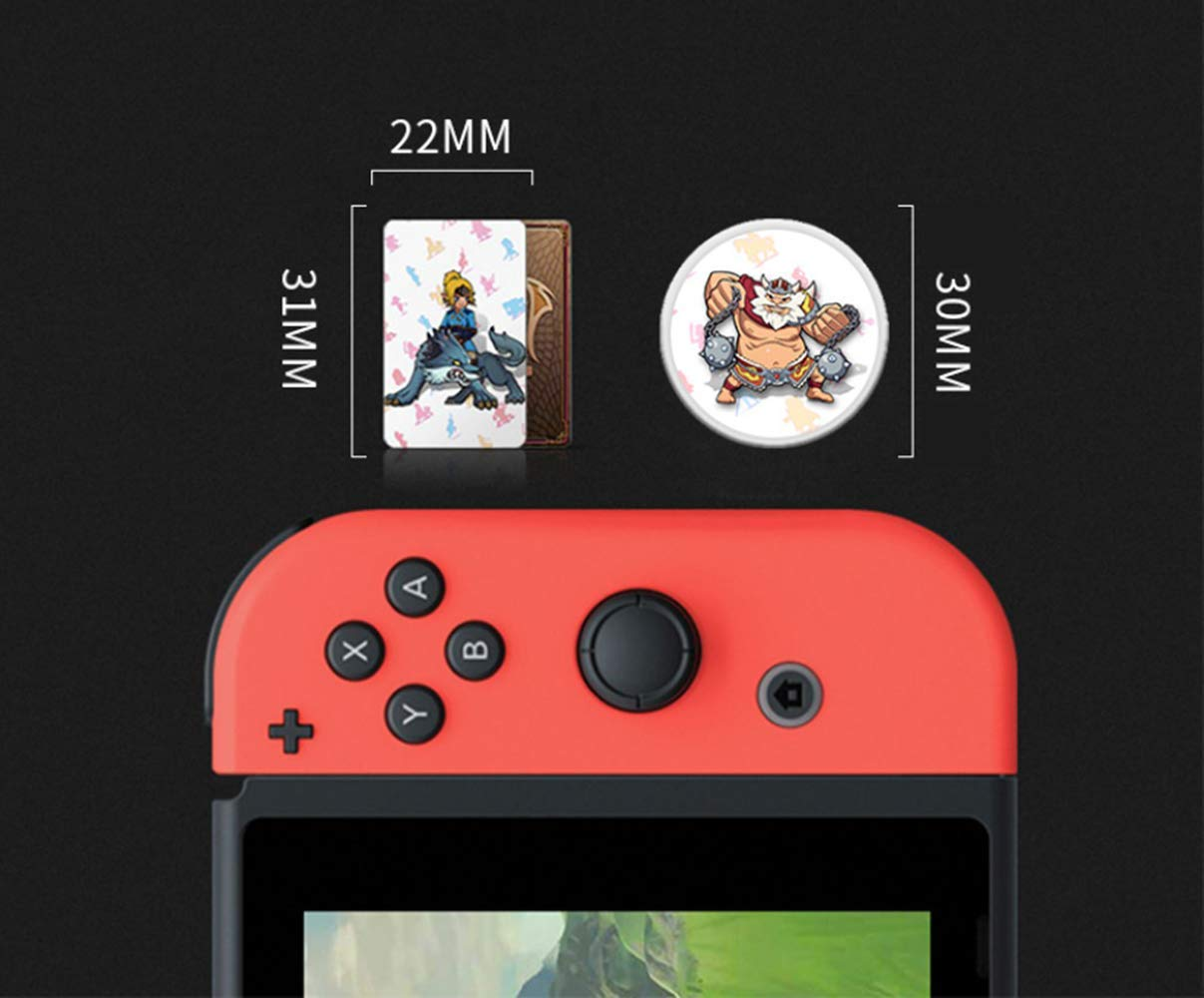 BotW 23pcs Nfc Game Cards for the Legend of Zelda Breath of the Wild Switch Wii U with Crystal Case