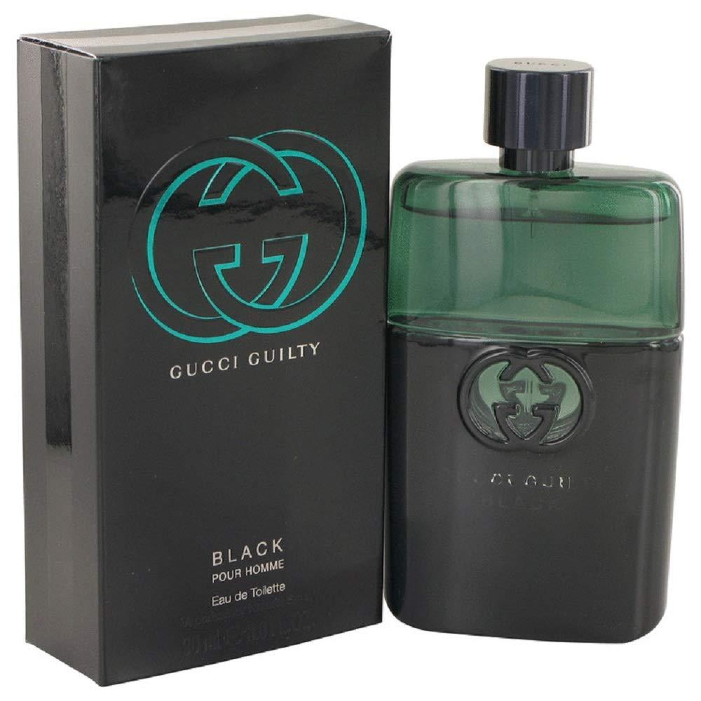 Ġũcci Ġuilty Black Pour Homme EDT Spray For Men 3 Oz.