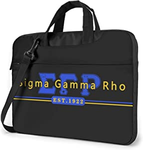 COCOCHILLA S-ig_ma 1922 SGR G_am-m_a R-ho Laptop Shoulder Messenger Bag Case Sleeve Laptop Case Laptop Briefcase Handbag 15.6 Inch (13/14 Inch)