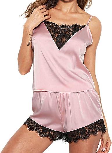 Briskorry Confortable Pijamas Atractivo Camisón Vestida ...