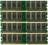 4GB (4x 1GB) Desktop Ram Memory for