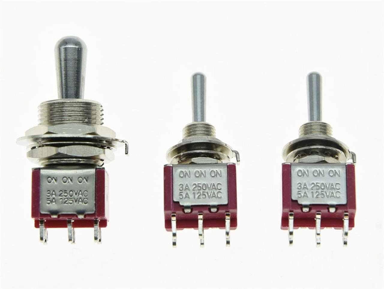 Salecom Guitar Fat Bat Toggle Switch Dpdt 3 Way On Wiring A Mini Get Free Image About With 2 Switches Musical Instruments