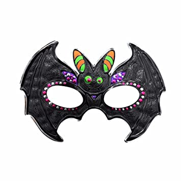 PromMask Mascara Facial Careta Protector de Cara dominó Frente Falso Halloween Maquillaje Fiesta de graduación máscara