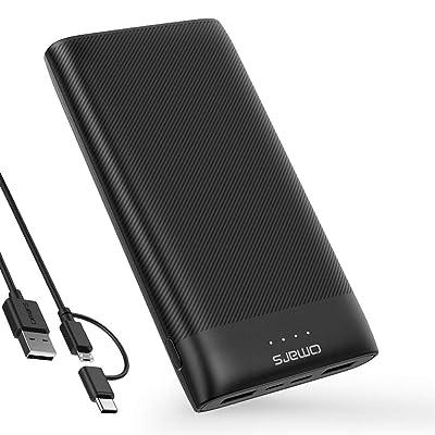 【18時10分まで】Omars USB-C入出力対応 20000mAhモバイルバッテリー 税込1,599円(d払いで実質1,254円) プライム会員送料無料