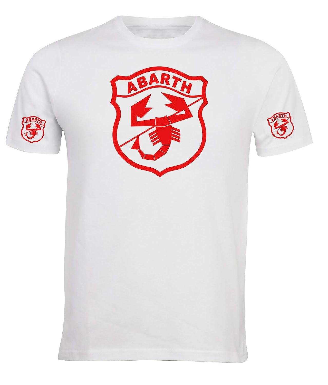 Camiseta Estilo Abarth 500 Fiat Coche Rally Racing T-Shirt Hombre ...