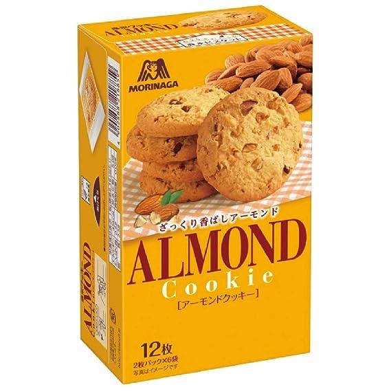 Morinaga galletas de almendra 12 piezas cajas X5