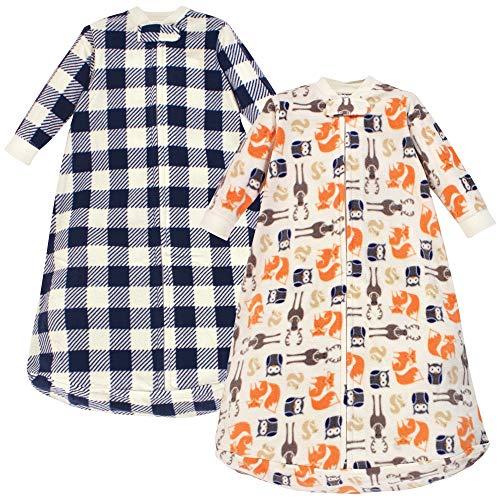 Hudson Baby Unisex Baby Long-Sleeve Fleece Sleeping Bag