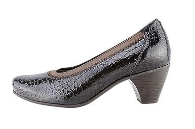 Chaussures femmes Escarpins confortable confort cuir noir gO2M9