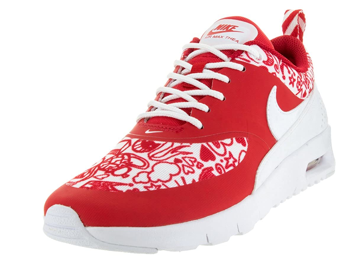 low cost cc777 6f6a4 Amazon.com   Nike Kids Air Max Thea SE (GS) University Red White Black  Running Shoe 4.5 Kids US   Running