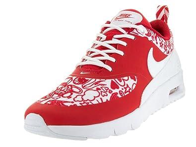 NIKE Air Max Thea Se (GS), Chaussures de Sport Fille, Rojo/