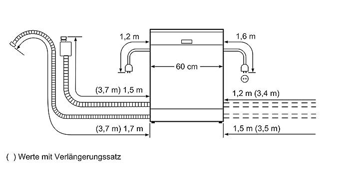 Bosch Serie 4 SMS46KW04E lavavajilla Independiente 13 ...