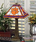 NCAA Clemson University 23in Mission Lamp, One Size, Multicolor