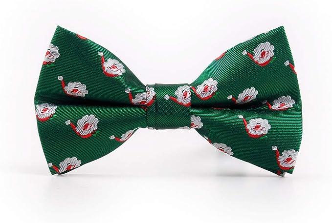 YYIILL Corbata de moño Hombre Corbata de lazo Regalo navideño ...