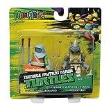 Teenage Mutant Ninja Turtles Minimates w/Keyrings - Vision Quest Leonardo & Rocksteady