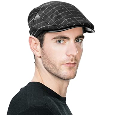 Stylish Mens Flat Cap Irish Gatsby Duckbill Ivy Dai Cap Newsboy Golf  Driving Shooting Hunting Fishing 13532ea3030
