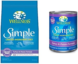 Wellness Well Pack: Simple Limited Ingredient Diet Turkey Natural Wet Canned & Dry Dog Food