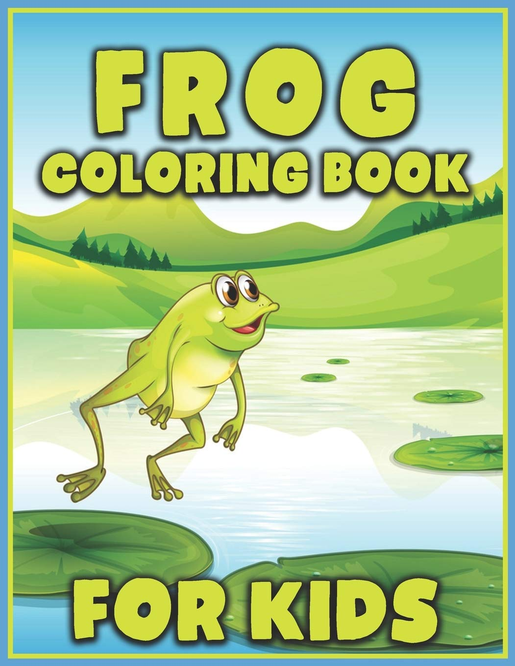 Frogs for kids - Frogs Kids Coloring Pages | 1360x1051
