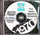 1970 Plymouth CD Repair Shop Manual for all models