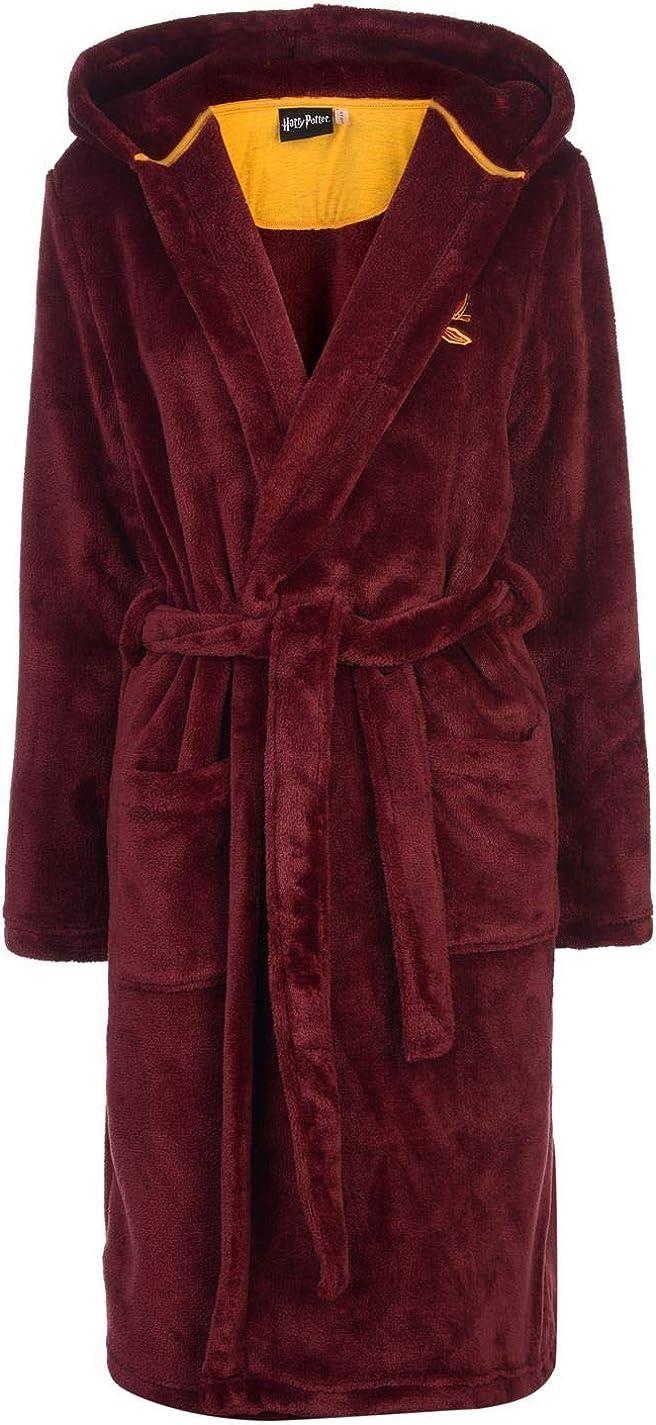 Harry Potter Gryffindor - Albornoz - para Mujer Rojo Escarlata/Oro ...