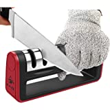 Knife Sharpener,3in1 Quickly Restore and Polish Blades, Safe and easy to use