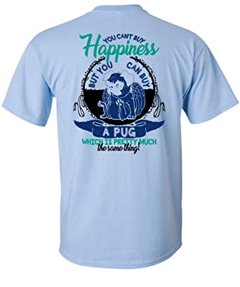 01d2c204 Amazon.com: Omg Cool Store Can Buy A Pug T Shirt, I Love Pug T Shirt ...