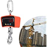 500KG/1100 LBS Digital Crane Scale 110V/220V Heavy Duty Industrial Hanging Scale Electronic