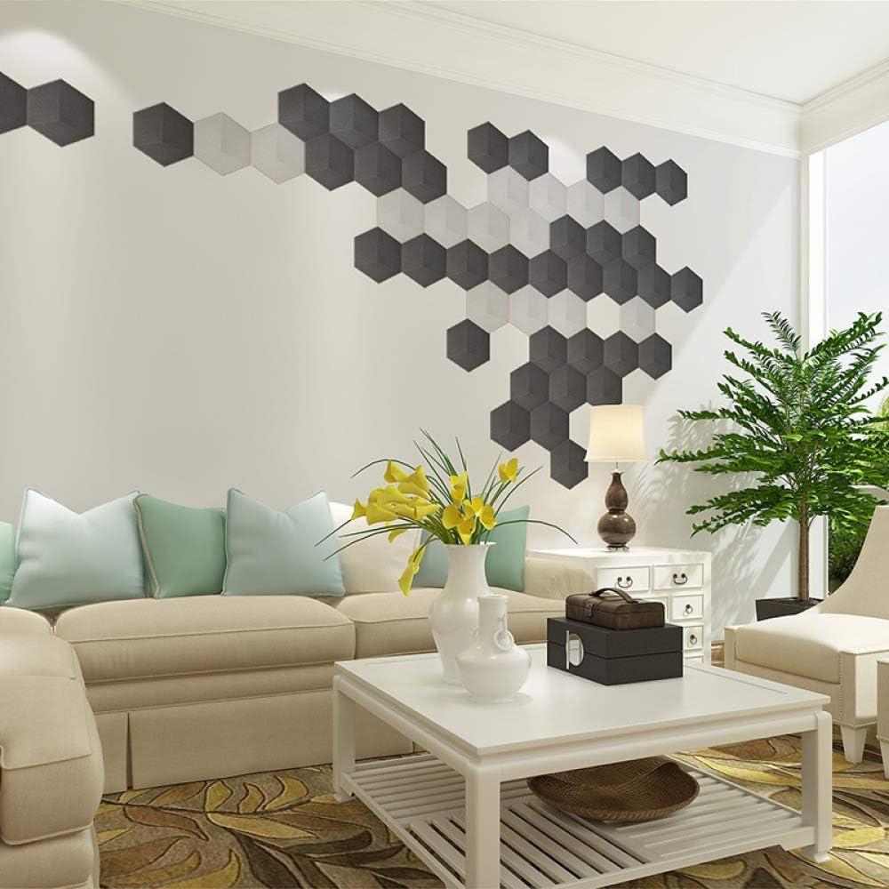 LZYMLG Papel pintado autoadhesivo hexagonal 3d dormitorio sala de ...