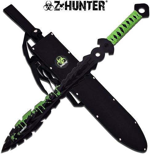 25 Zombie Hunter Fantasy Fixed Blade