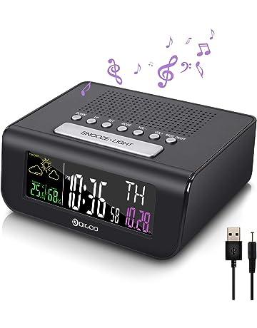 56696ea75ee6 Amazon.es  Radiodespertadores - Radios  Electrónica
