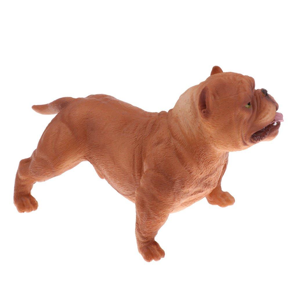 2 piece Lifelike Animal Model Figure Figurine Science Nature Toy Rottweiler