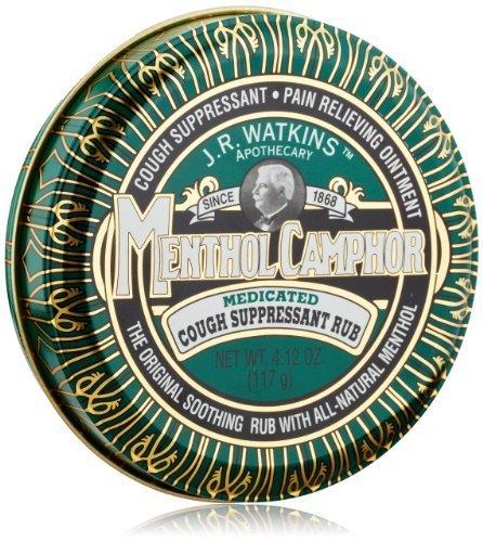 J.R. Watkins Natural Menthol Camphor Ointment, 4.12 Ounce by Watkins