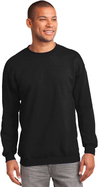 Port & Company Mens Tall Ultimate Crewneck Sweatshirt at  Men's Clothing store