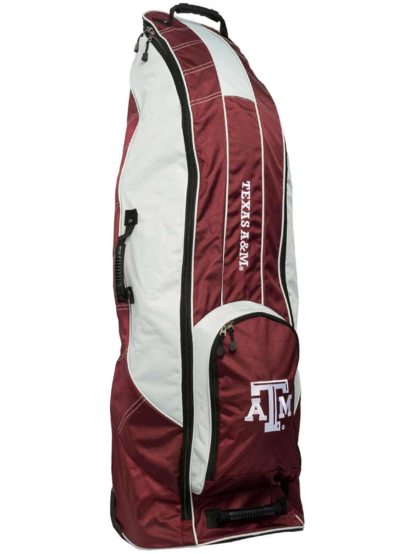 Texas A & M AggiesチームゴルフレッドゴルフクラブWheeled Luggage Travel Bag   B01MRJZ96R