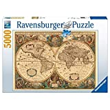 Ravensburger Puzzle 5000 pieces - Old Globe (code 17411) by Unknown