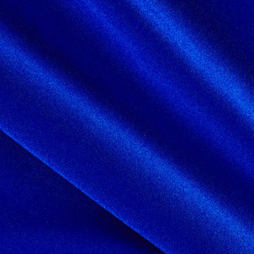 (Ben Textiles Activewear Spandex Knit Solid Royal Fabric by The Yard,)