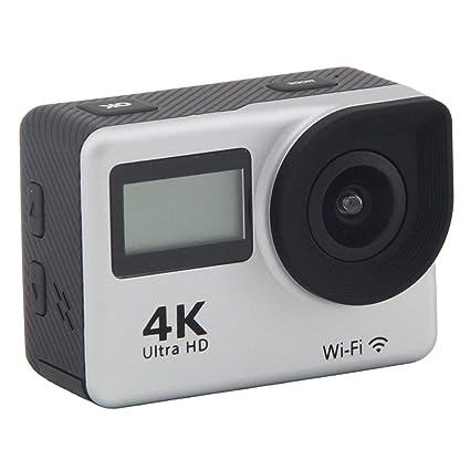 Amazon.com: Cámara de Acción Deportiva 4K Ultra HD Wi-Fi ...
