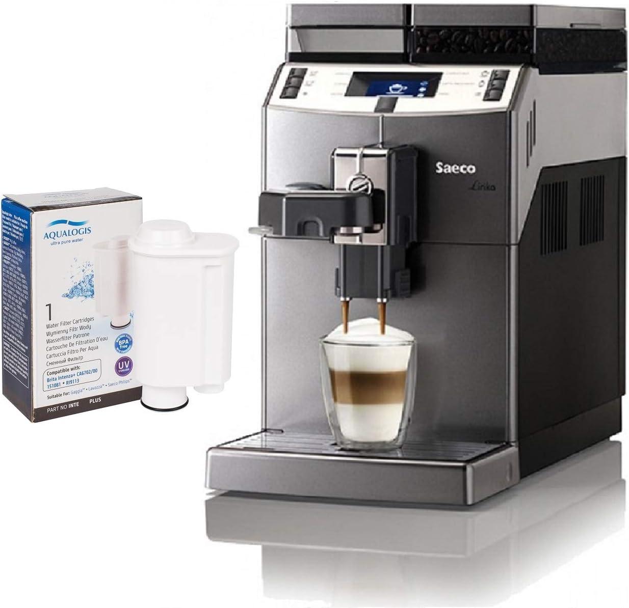 Aqualogis - Filtro de Agua Compatible con Brita Intenza + CA6702/00 151081 RI9113, Saeco, Gaggia y Philips: Amazon.es: Hogar