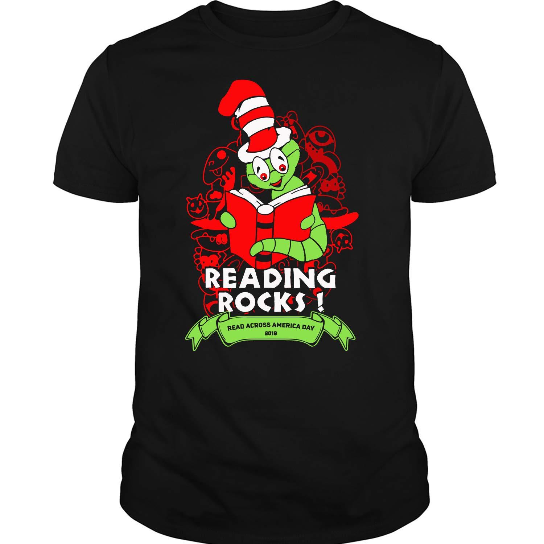 Reading Rocks T Shirt Read Across America Day 2019 T Shirt 5312
