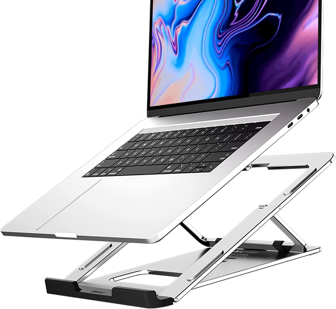 ZC-HZW Laptop Stand Laptop Lift Portable Bracket Aluminum Steady Laptop Support Universal Folding Portable Notebook Computer Support