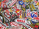 200 Pcs of Sponsor Stickers Vintage Racing Decal Rare Original Motocross Motorcycle Sticker