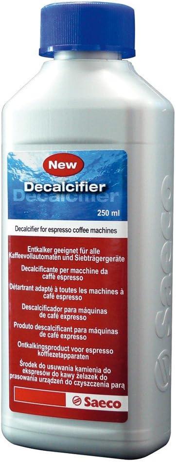 Saeco - Descalcificador para cafeteras espresso, 250 ml: Amazon.es ...