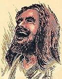 Laughing Jesus Original Print (8-1/2 x 11)
