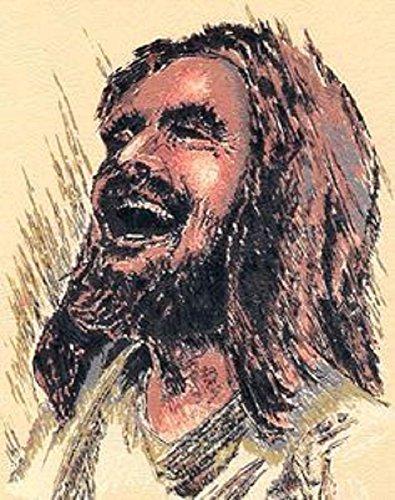 Laughing Jesus Original Print (8-1/2 x 11) by Laughing Jesus