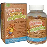 Hero Nutritional Products, Yummi Bears Organics, Multi-Vitamin, 90 Gummy Bears - 2pc