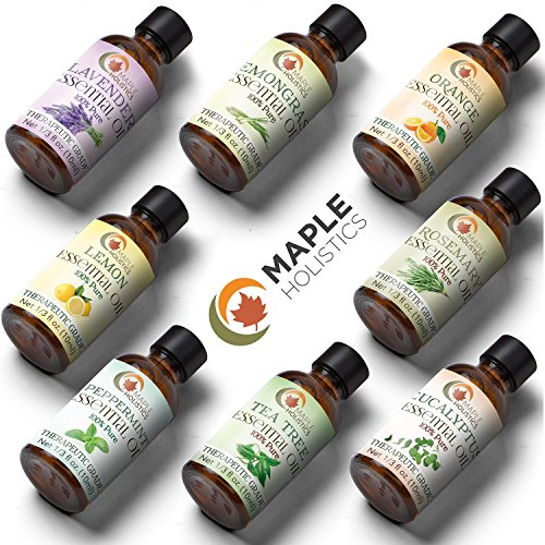 Essential Oils Set 100% Pure Therapeutic Grade - Aromatherap