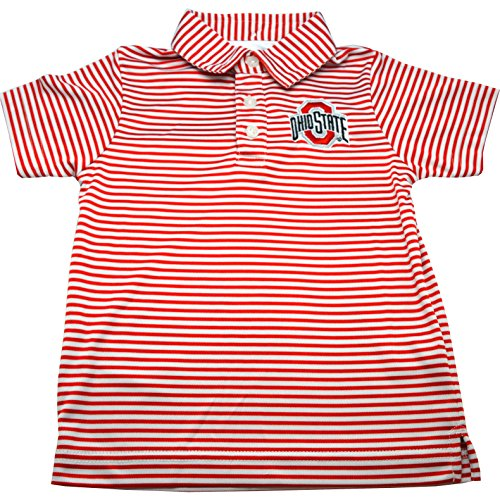Ohio State Carson Toddler Stripe Polo - 5T by Garb