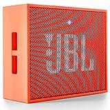 JBL GO Portable Wireless Bluetooth Speaker W/A Built-In Strap-Hook (Orange)