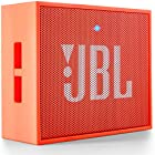 JBL GO Portable Wireless Bluetooth Speaker W/A Built-In Strap-Hook (Orange)
