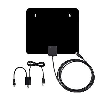 Masione – Antena, Antena de TV, HD, de antena interior amplificada antena de