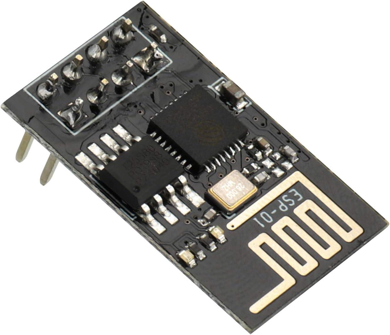 SDLZQJTVBN ESP8266 Serial WiFi Wireless Module transceptor inal/ámbrico ESP-01//ESP-07//ESP-12E//ESP-12F//ESP-01S ESP-12F